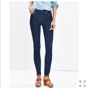 "Like new Madewell High Riser dark wash 9"" rise"